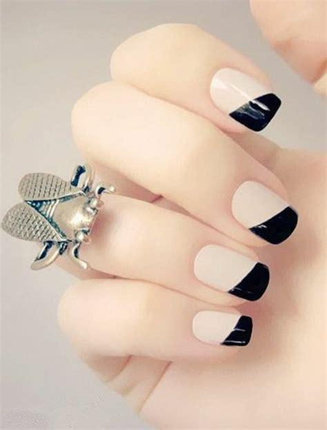 idee deco ongle simple 41 id 233 es en photos pour vos ongles d 233 cor 233 s