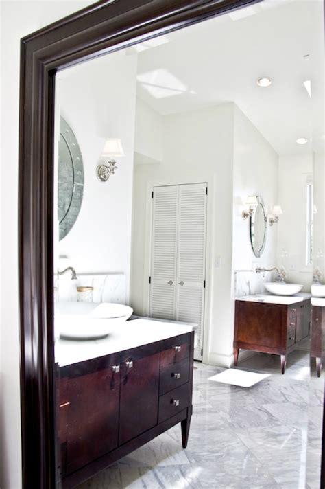 cherry   vanity  gray vanity stool