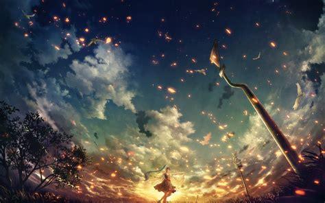 anime anime girls wallpapers hd desktop  mobile