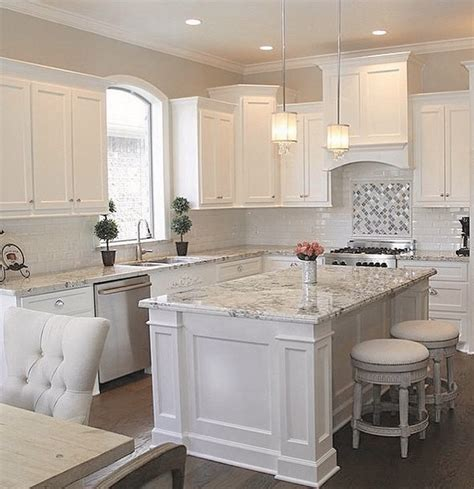 White Kitchen Countertop - 30 white kitchen design ideas for modern home