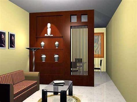 desain penyekat ruang tamu ruang keluarga minimalis