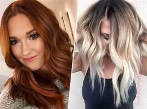 Couleur Cheveux Tendance : cheveux voici les 7 tendances de coloration de l 39 automne ~ Nature-et-papiers.com Idées de Décoration