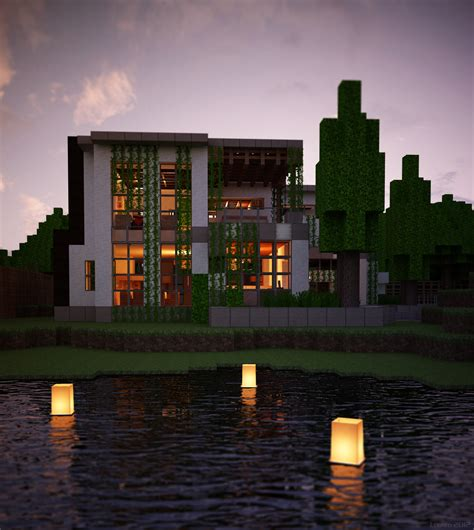 25 unique modern minecraft houses ideas on