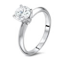 engagement ring engraving diamond ring in 18k white gold diamondland
