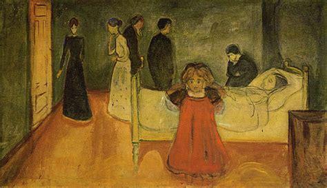peinture chambre parent edvard munch gallery gt paintings gt the dead