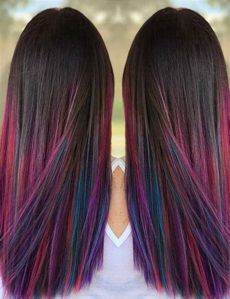 colorful ombre hair 20 amazing ombre hair color ideas blushery