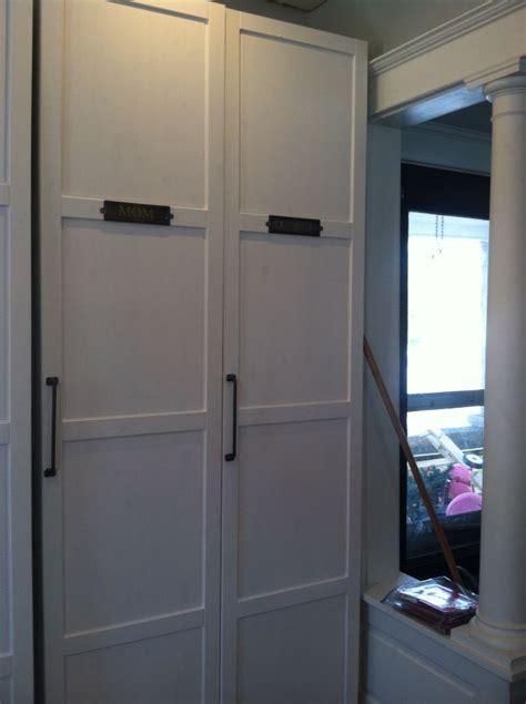 ikea pax cabinets  mudroom original idea