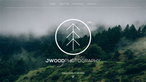 Photography Website Templates 100 Free Photoshop Psd Website Templates