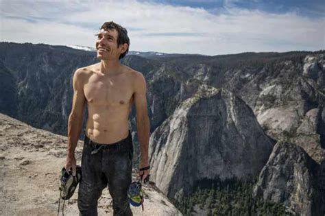 Free Solo Documentary Climber Alex Honnold Says His Ted