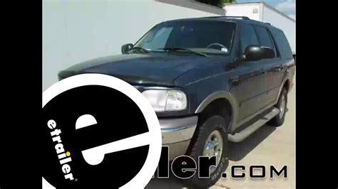trailer brake controller installation 2000 ford expedition etrailer com youtube