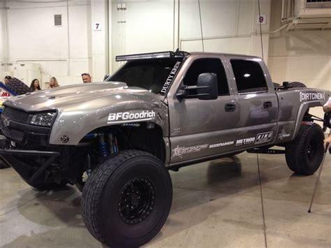 chevy prerunner truck duramax diesel prerunner offroad expo dirty max