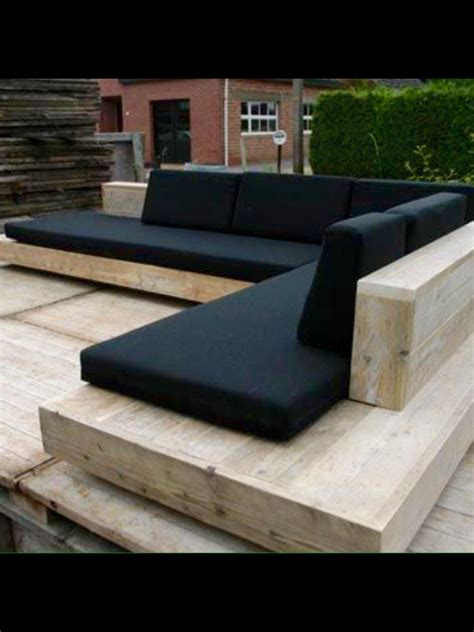 Outdoor L by L Shaped Seating Around Pit Outdoor Sectional Sofa