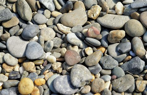 Free Beach Pebbles Or Stones Background Texture Image