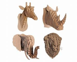 cardboard safari39s cruelty free taxidermy kits bring your With free cardboard taxidermy templates