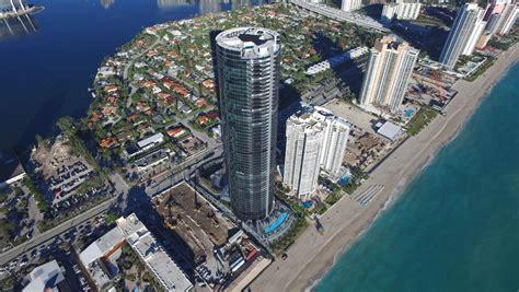 porsche design tower construction first porsche design tower in miami