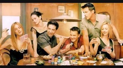 Friends Tv Series Wallpapers Gang Call Bar