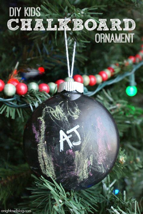 diy ornaments    kids