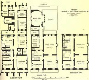 Highclere Castle Floor Plans by Edwardian Interiors An Edwardian Town House Edwardian
