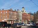 Greene, NY : marvelous traditional town block, with a ...
