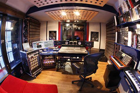 Recording Studio Control Room Fisheye Small