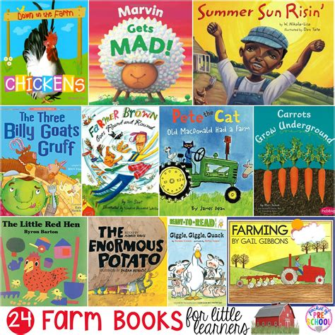 farm books for learners pocket of preschool 189 | Farm Books Cover Edited