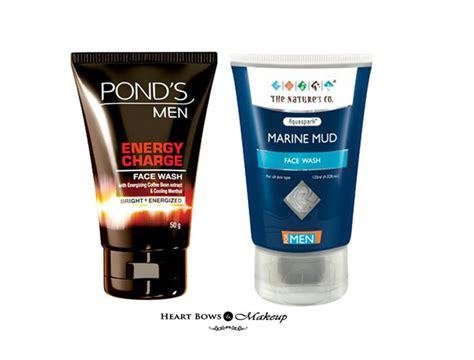 Best Face Wash For Men In India Our Top 10!  Heart Bows