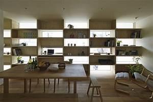 etonnante maison urbaine contemporaine en bois au japon With salle a manger japon