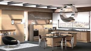 ilot de cuisine avec coin repas galerie avec cuisine avec With cuisine avec ilot central et coin repas
