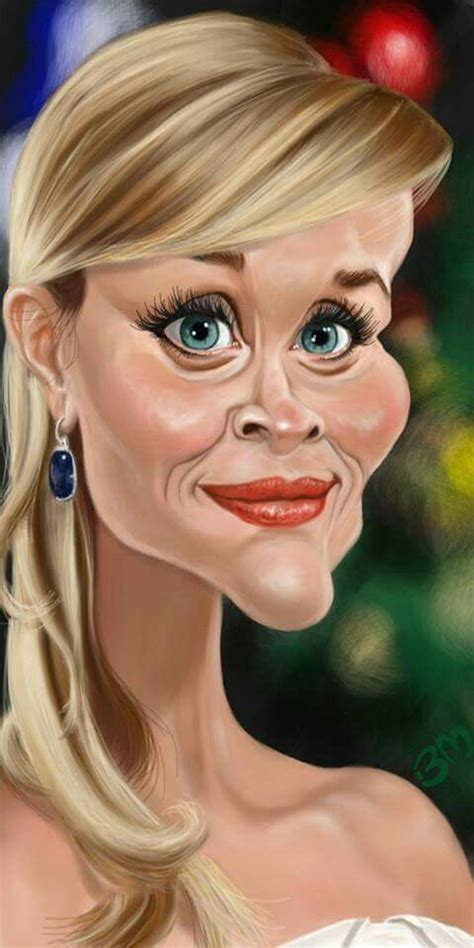 reese witherspoon caricatures   caricature