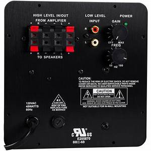 Dayton Audio Sa25 25w Subwoofer Plate Amplifier