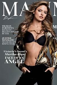 MARTHA HUNT for Maxim Magazine, December 2017 - HawtCelebs