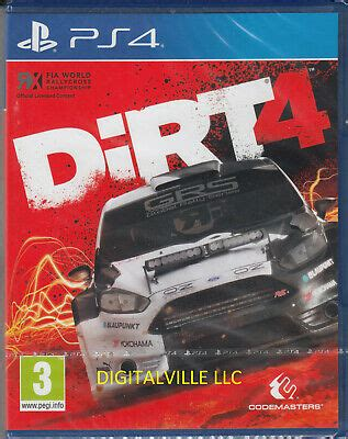 dirt rally ps4 sony playstation 4 brand new sealed racing 37 05 picclick ca