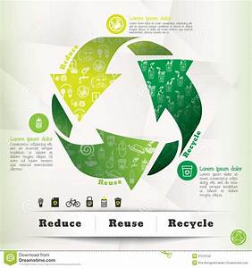 Recycle Concept Graphic Element Stock Photography