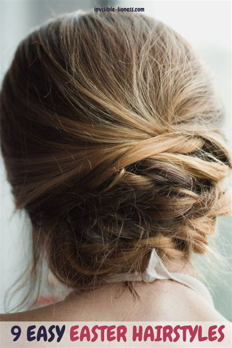 The thing about low maintenance haircuts and hairstyles is. 9 Tutorials for Easy and Cute Easter Hairstyles | Easter ...