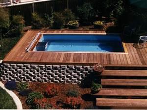 Petite Piscine Hors Sol Bois : fabriquer piscine hors sol bois ~ Premium-room.com Idées de Décoration