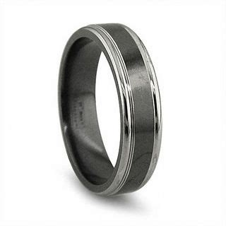 Edward Mirell Men's 65mm Grey Edged Wedding Band In Black. Wedding Ring Engagement Rings. Giant Wedding Rings. Gift Engagement Rings. Bollywood Engagement Rings. Girlfriend Promise Ring Wedding Rings. Guard Wedding Rings. Leaf Wedding Rings. Hop Engagement Rings