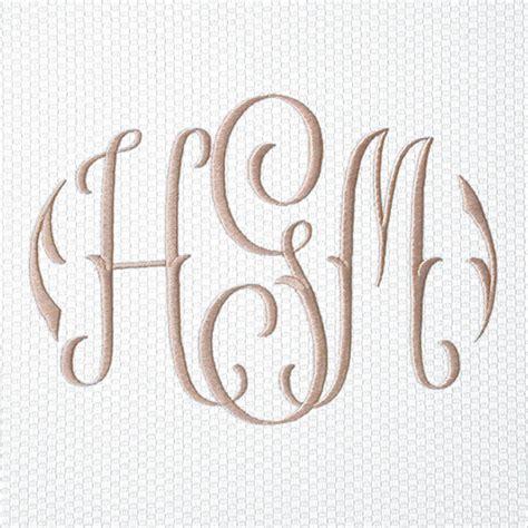 monogram styles company gramercy fine linens furnishings
