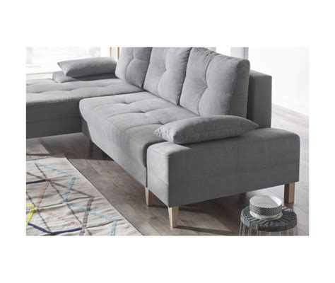 pied de canapé canape d 39 angle convertible sven ii gauche pieds bois