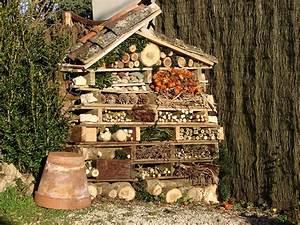 Fabriquer Un Hotel A Insecte : h tel insectes oui mais pour quels insectes ~ Melissatoandfro.com Idées de Décoration