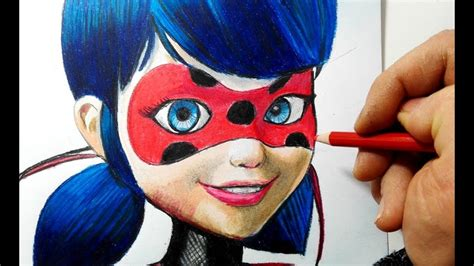 disegnare  colorare ladybug  miraculous youtube