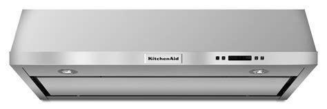 kitchenaid under cabinet range hood kitchenaid 36 quot under cabinet range hood w 4 speeds