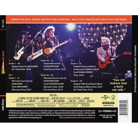Howard the Duck [3CD] ⋆ Soundtracks Shop
