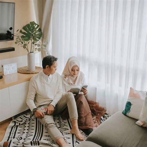 foto prewedding indoor casual elegant simple