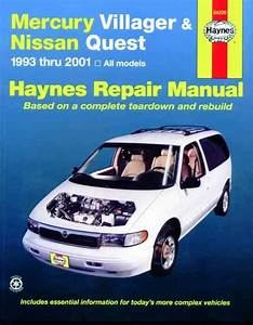 Mercury Villager  U0026 Nissan Quest 1993