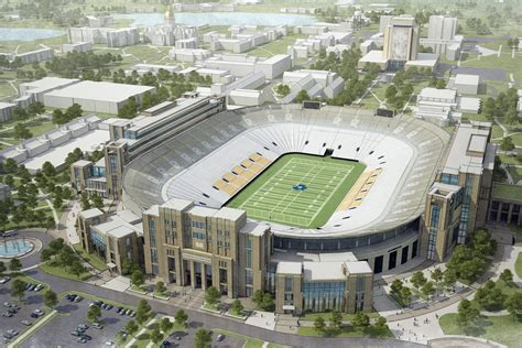 Notre Dame Talking Unique Kind Of Football Stadium
