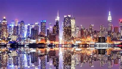 Skyline Night Wallpapersafari