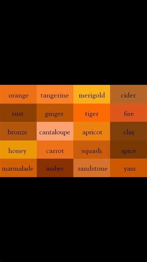 oranges  images color names color shades orange