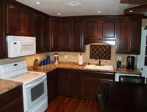 how to stain kitchen cabinets staining old cabinets kitchen darker color gel stain on