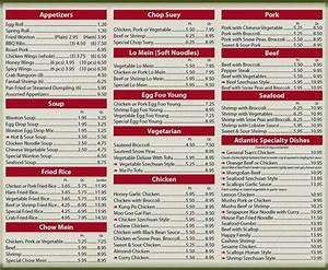 Wokano asian bistro menu