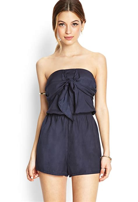 jumpsuits rompers tie front romper forever21 romper